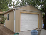 Custom Built Single Car Detached Garage