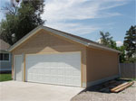 Two Care Custom Built Garage